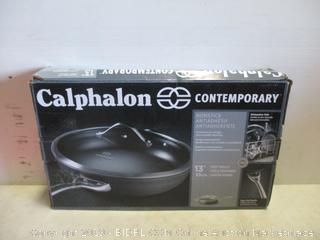 Calaphon Covered Deep Skillet