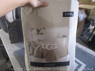 UGG Twin Comforter Bedding