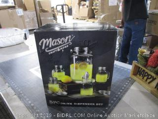 Mason Drink disoenser Set