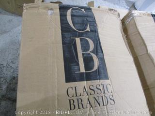 """Classic Brand 12"""" Gel Foam mattress Twin XL"""