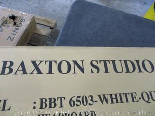 Baxton Studio White Queen Headboard