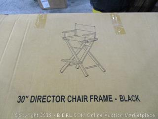 "30"" Director chair Frame"