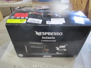 Nespresso inissia & Aeroccino3