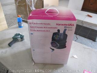 Karaoke USA Bluetooth
