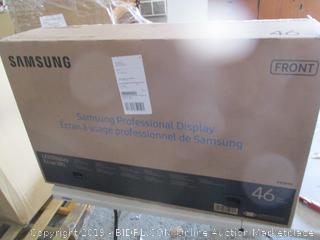 Samsung Monitor Powers on