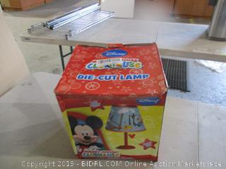 Mickey Mouse Die Cut Lamp