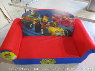 Mickey and the Roadster Racers Flip Open Sofa  See Pictures