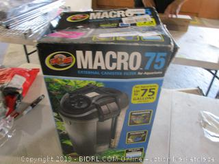Macro.75 External Canister Filter for Aquariums