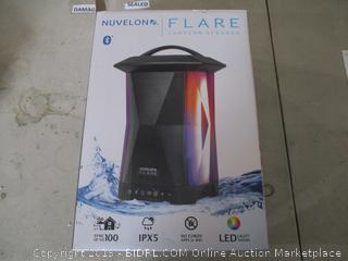 Nuvelon Flare Lantern Speaker 8 Color Light Show Option with 5 Level Brightness Control