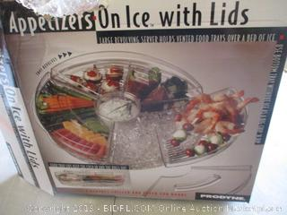 Appetizer On Ice with Lids