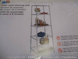 5-Tier Steel Shelving unit