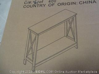 X Frame Console Table