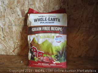 Whole Earth Farms Grain Free Recipe Dog Food 25lbs