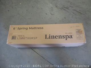 "Linenspa 6"" Spring Mattress Twin XL"