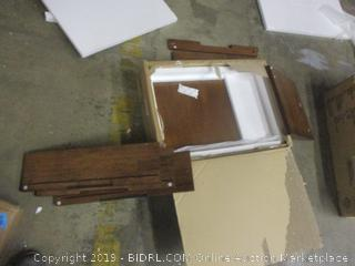 2 Ddoor 3 Drawer Buffet incomplete box c only