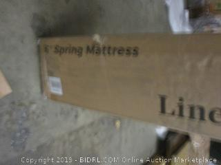 Linenspa Spring Mattress  Incomplete see pictures