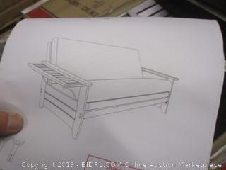 Furniture incomplete see pictures
