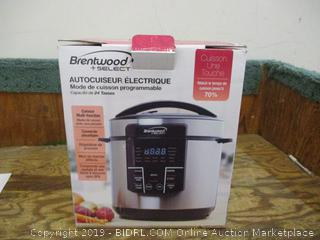 Brentwood Cooker See Pictures