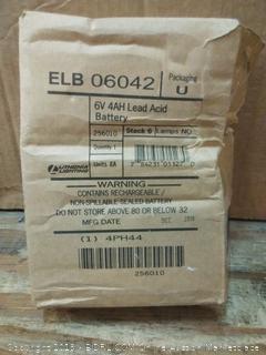 6V 4AH Lead Acid Battery