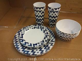 Dinnerware set see pictures