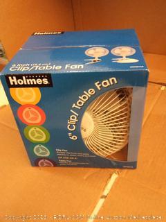 Holmes Clip/table Fan