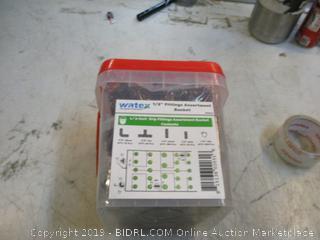 "Watex 1/2"" Fitting Assortment Bucket"