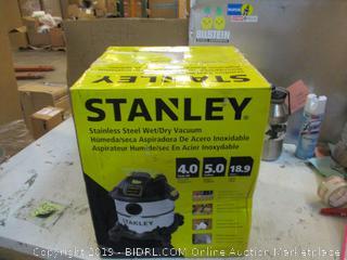 Stanley Stainless Steel wet/Dry Vacuum