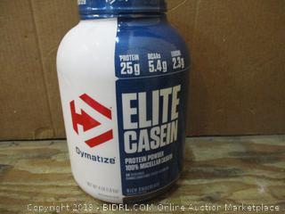 Elite Casen Protein Powder dented