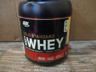 Gold Standard Whey  dented