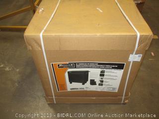 "Homak Professional 35"" 7 Drawer Flip Top Service Cart Factory Sealed"