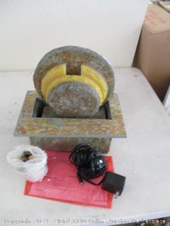 Sunnydaze Flowing Rock Indoor Slate Tabletop Water Fountain