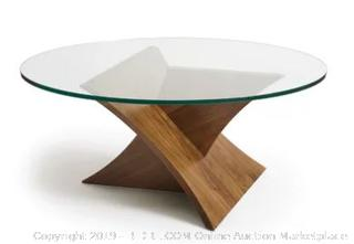 Planes Glass Top Coffee Table (Online $1032.00)