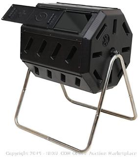 Dual Chamber Compost Tumbler (Factory Sealed/Box Damage) COME PREVIEW!!!! (online $79)