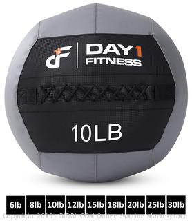 Day 1 Fitness Soft Wall Medicine Ball 10 Pounds (Factory Sealed) COME PREVIEW!!!! (online $48)
