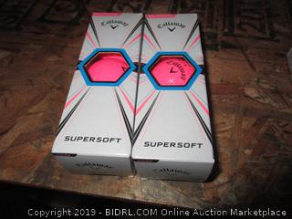 Callaway Supersoft Pink Golf Balls