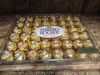 Flat of Ferrero Rocher Chocolates