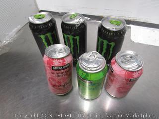 Monster Energy Dink, KS Sparkling Water