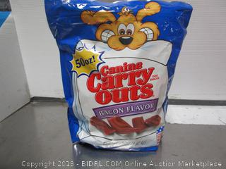 Canine Carry-Outs Bacon Dog Treats