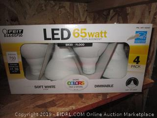 Feit LED 65W Replacement BR30 light bulbs