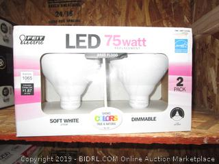 75 Watt Replacement Dimmable Bulbs