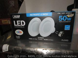 LED Dimmable Light Bulb Retrofit