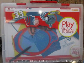33 Piece Activity Kit Play And Trace