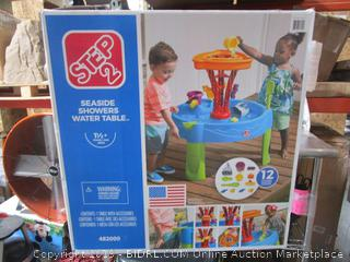 Step  Seaside Showers Water Table