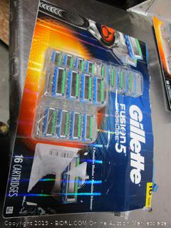 Gillette Fusion Proglide 5 Replacement Razor Heads/Cartridges