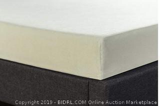 Zenus full 6 inch memory foam Comfort pressure relief mattress