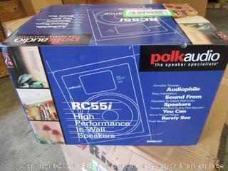 Polk Audio RC55R In-Wall Speakers (Pair, Sealed)