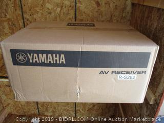 Yamaha AV Receiver (Factory Sealed, Box Damaged)