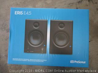 PreSonus Eris E4.5 2-Way Powered Studio Monitors (Pair, $199 Retail,  Factory Sealed)