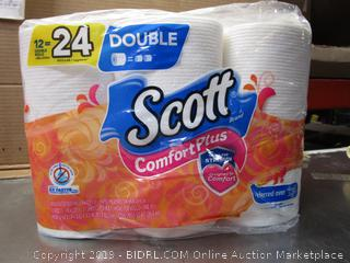 Scott Comfort Plus Double-Roll Toilet Paper
