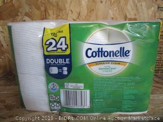 Cottonelle GentleCare Aloe Double-Roll Toilet Paper
